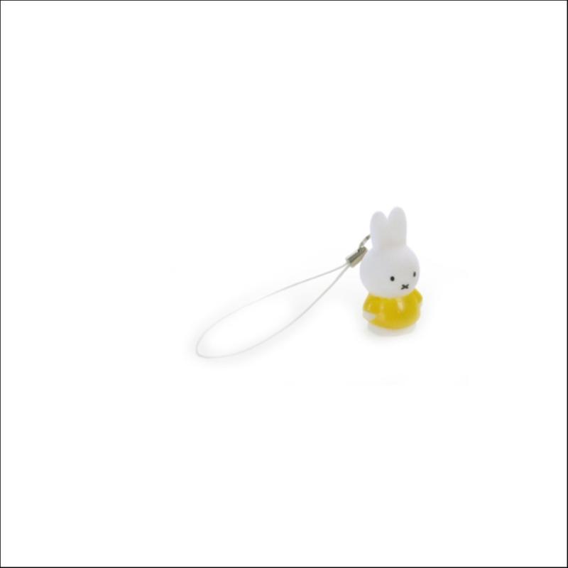 Mini sleutelhanger Nijntje 3,8 cm Geel