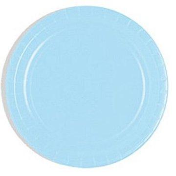 Borden licht blauw 16 stuks, 21,9 cm