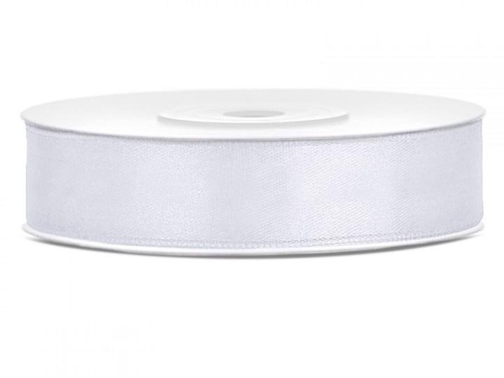Satijn Lint Wit 15 mm