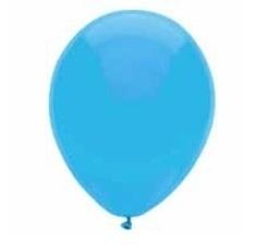 geboorte versiering ballonnen blauw 10 stuks