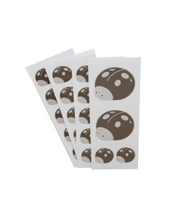 Pimpam stickers Taupe