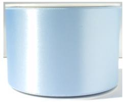 Satijn lint 7 cm breed, Licht blauw