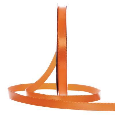 Satijn Lint Oranje in verschillende breedtes