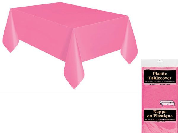 Tafelkleed hot pink