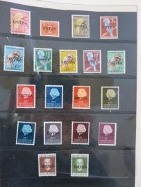 ONU - UNO : UNTEA 1962 compl. (bf15/018)