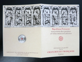 FRANCE Carnet Croix-Rouge / Red Cross Booklet  1960 (ck16/099)
