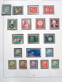 ALLEMAGNE Federale / West GERMANY 1957 - 1976 Complet en album safe  (dh2/055)