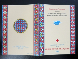 FRANCE Carnet Croix-Rouge / Red Cross Booklet  1961 (ck16/099)