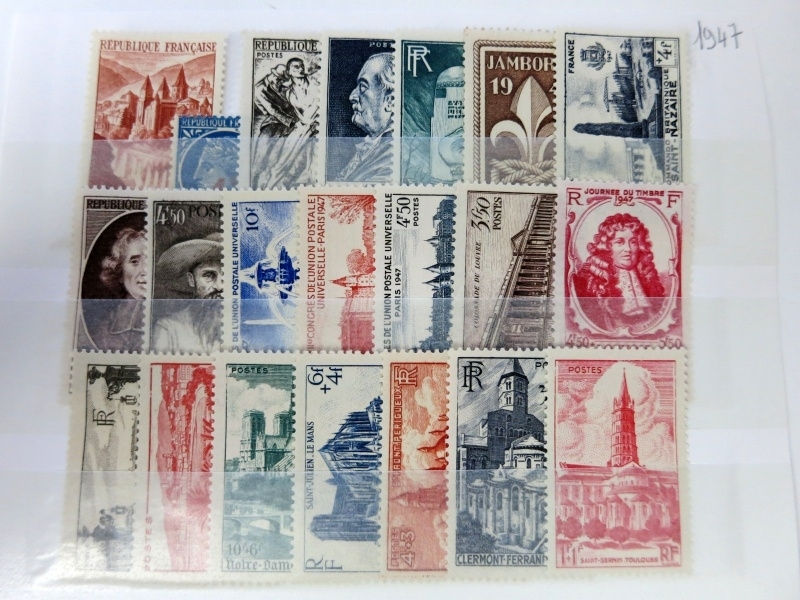 FRANCE 1947 Complet Neuf**/MNH** (ce2/100)