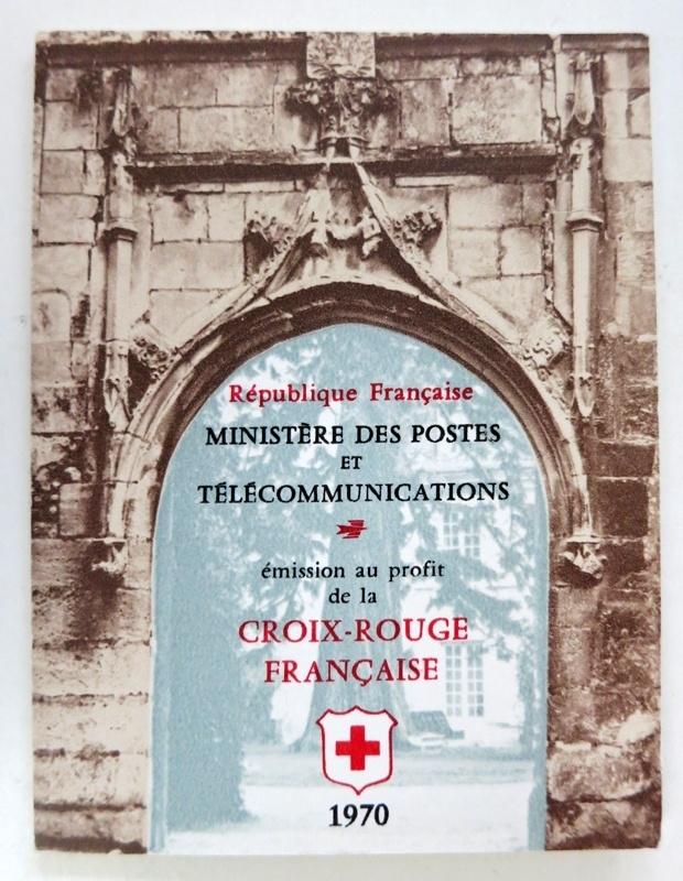1970 Carnet Croix Rouge - 2019a - cote 88€ (ar14/125)