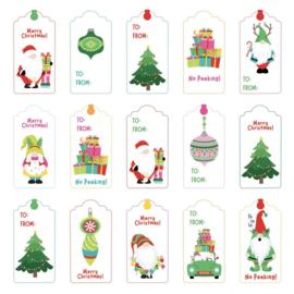 Tulla & Norbert's Christmas Party Cardstock Die-Cut Sheet Christmas Morning