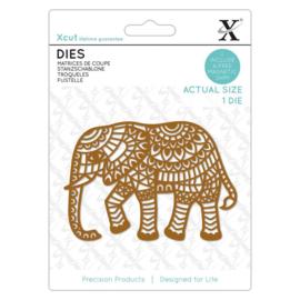 Die Indian Elephant