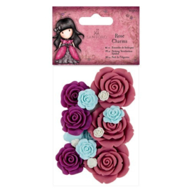 Gorjuss Rose Charms