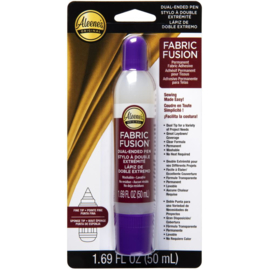 Fabric Fusion Permanent Adhesive Dual Ended Pen