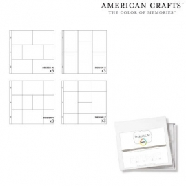 Project life photo pocket pages 3x4 variety pack