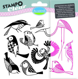 Stampo Clear Birds