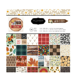 "Warm & cozy Paper Pad 12""X12"""