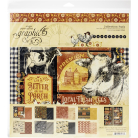 "Farmhouse Collection Pack 12""X12"""