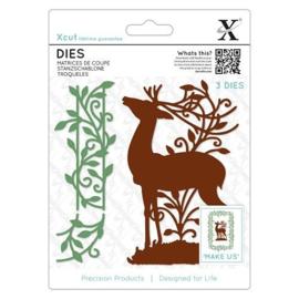 Dies Woodland Stag