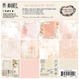 "Vintage Artistry Coral Collection Pack 6""X6"""