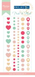 PL4504 Pink & mint