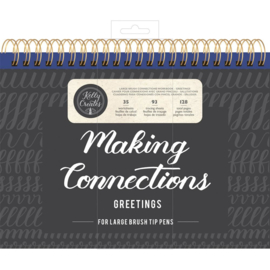Large Brush Workbook Connections/Greetings