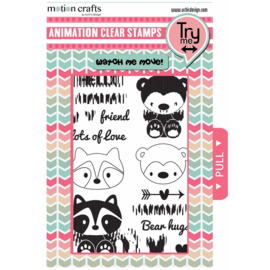 Animation Clear Stamp and Dies Critters