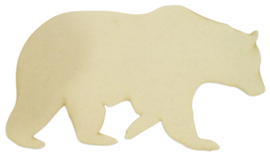 Deco Wood XL Bear