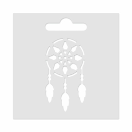 Mini Stencil Dreamcatcher