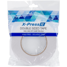 """Double-Sided Tape 18mm .75""""X55yd"""