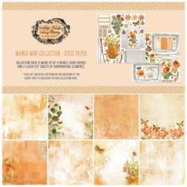 """Vintage Artistry In Mango Collection Pack 12""""X12"""""""