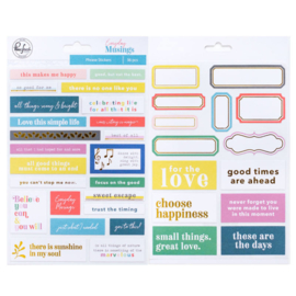 Everyday Musings Phrase Stickers