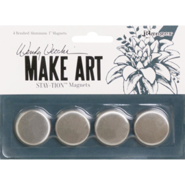 "Make Art Stay-tion 1"" Magnets"