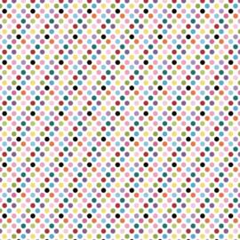 Patterned single-sided l.pink dot