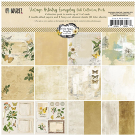 "Vintage Artistry Everyday Collection Pack 6""X6"""