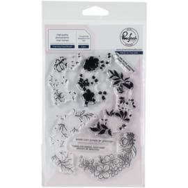 Clear Stamp Set Charming Floral Wreath