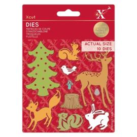 Dies Woodland Animals