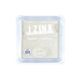 Inkpad Izink Pigment White Small