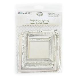 Vintage Artistry Essentials File Frame Set Square Stitched