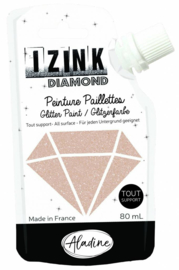 Izink Diamond Glitter Paint Gold Copper