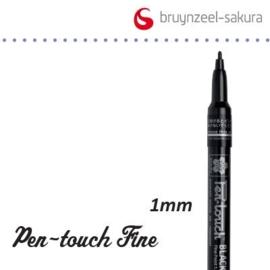 Sakura marker fijn 1.0mm zwart