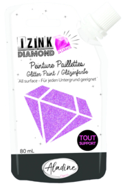 Izink Diamond Glitter Paint 24 Carats Peach