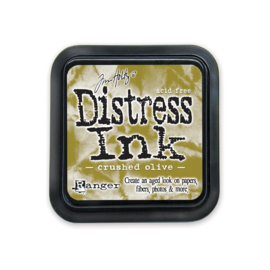 Crushed Olive Distress Ink Pad