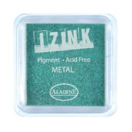 Inkpad Izink Pigment Metal Green Small
