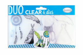 Clear Stamps & Dies Ethnic