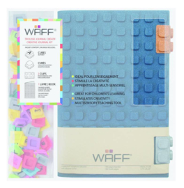WAFF Creative Journal Kit A5 Glitter Navy