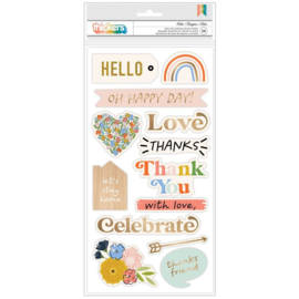 Reaching Out Thickers Stickers Phrase