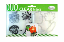 Clear Stamps & Dies Tropical