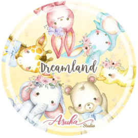 Dreamland Washi Tape 25mm