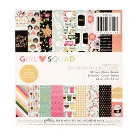 "Girl Squad Paper Pad 6""X6"""